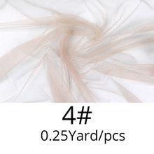 Кружево для изготовления париков 1/4 ярдов швейцарский кружевной узор сетка для изготовления париков/закрытие/Фронтальная/Toupee Закрытие чел...(Китай)