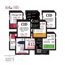 Cid sd card cid Per Il gps navi di navigazione Mercedes Benz volkswagen Nissan Renault tomtom <span class=keywords><strong>Opel</strong></span> Ford Toyota Suzuki Mazda