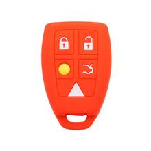Силиконовый чехол OkeyTech для ключей Volvo S40 V50 V70 C70 S60, дистанционный брелок для ключей автомобиля, 5 кнопок, автомобильные аксессуары(China)