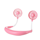 2020 Lazy Sports Neck Fans Portable USB Battery Mini Small Hanging Neck Fan neckband usb rechargeable cooling fan ventilateur