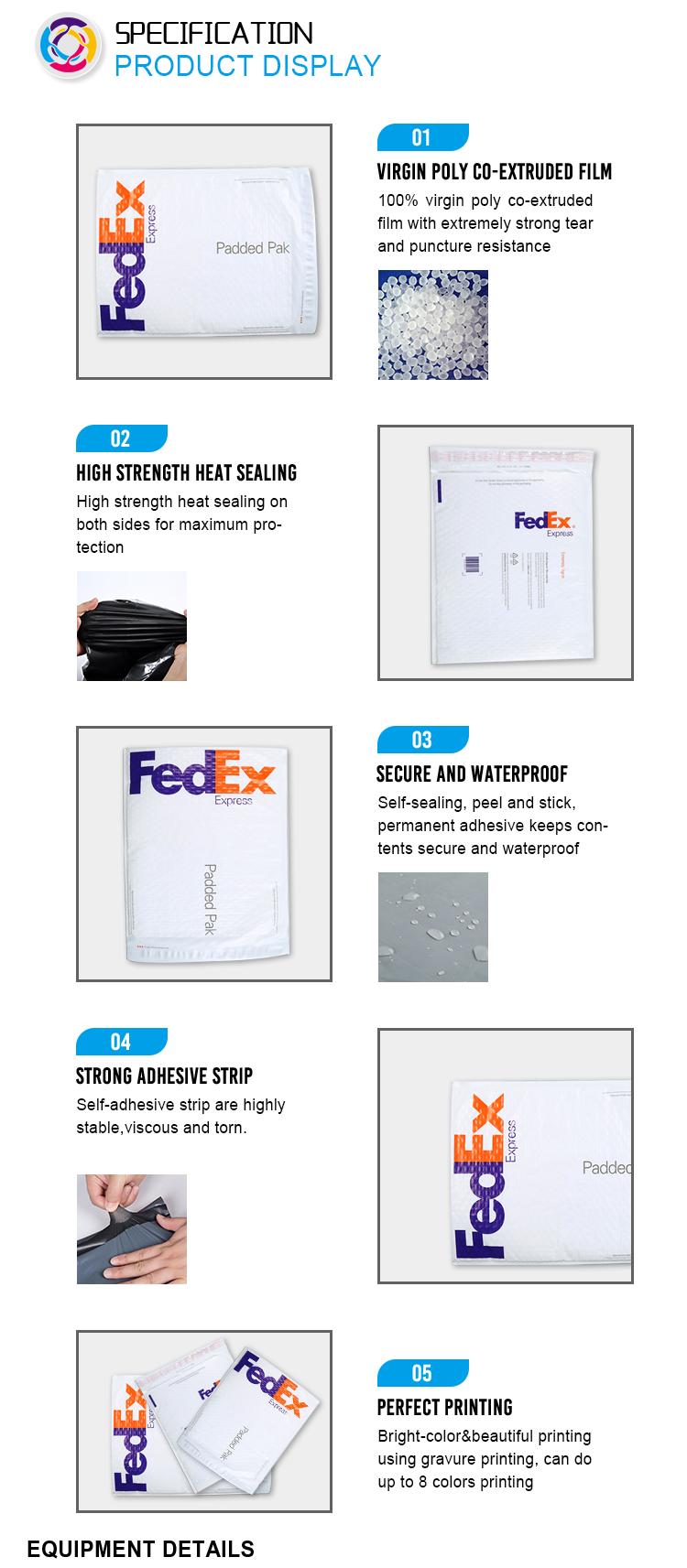 Hot sale branco kraft envelopes bolha com códigos de barras