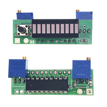 LM3914 <span class=keywords><strong>Blauw</strong></span> 10 Segment 3.7V Lithium 12V Batterij Capaciteit Indicator Module Power Level Tester Led Display Elektronische Diy kits