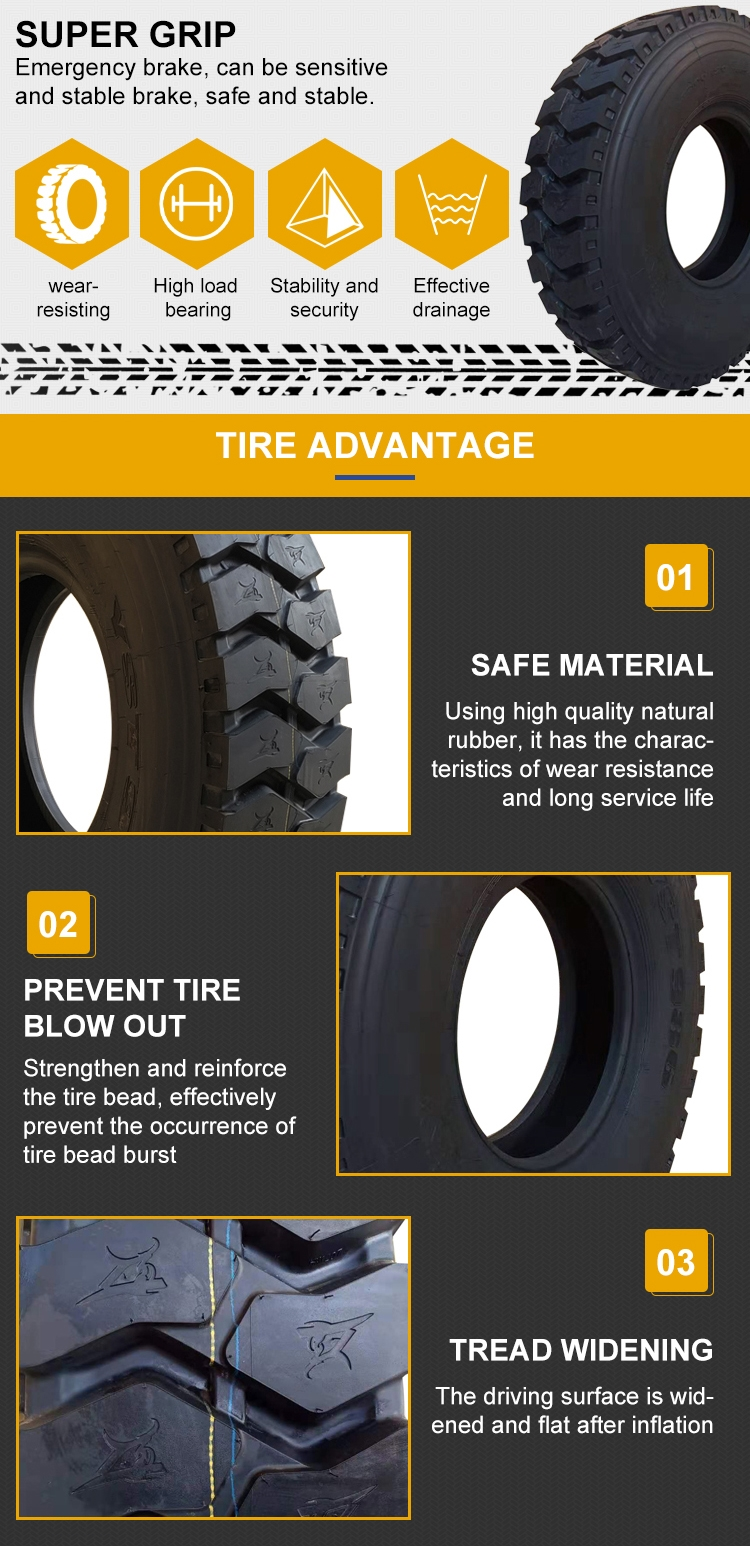 12r20 Radial Truck Tires Cheap Light Truck Tire 10.00-20 New Brand Truck Tyre