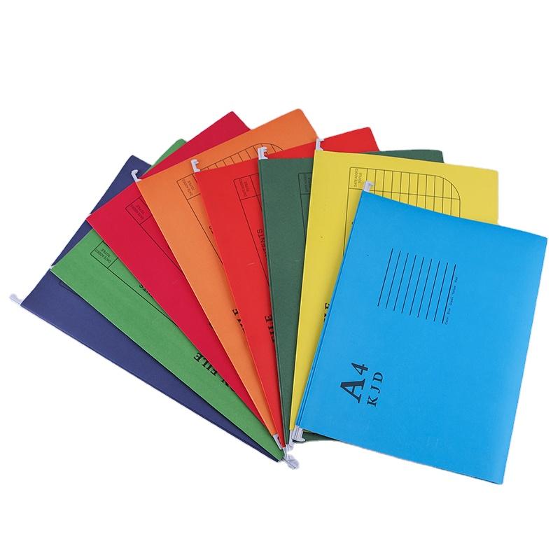 Eco-Friendly Paper Suspension File Folder Office School FC A4 Size Hanging Suspension File Folders