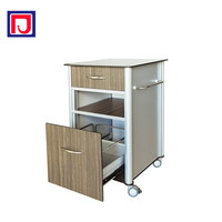 Medical bedside bed side locker for clinic