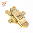 mini small jewellery boxes gold locks buckle metal hasp lock latch for wooden box