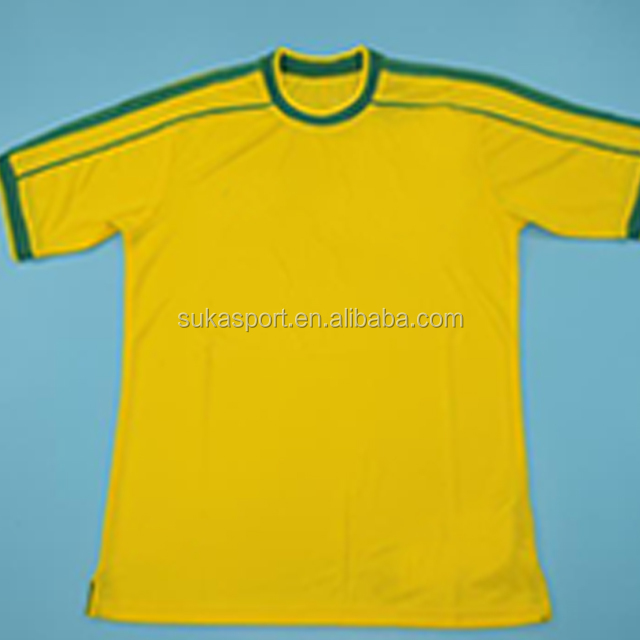 2002 world cup jersey men adult Ronaldo Brazil retro football jersey soccer jersey