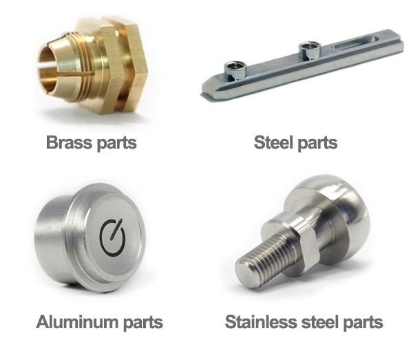 Fabrication service stainless steel CNC milling machining parts