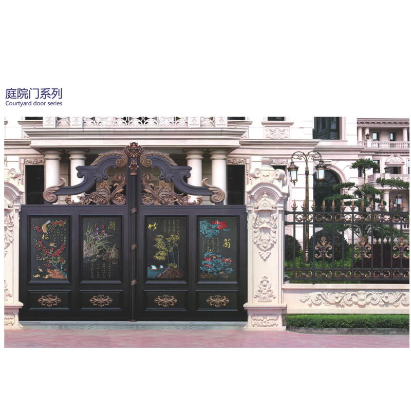 Guarantee the quality of special design of the hot-selling aluminum art door