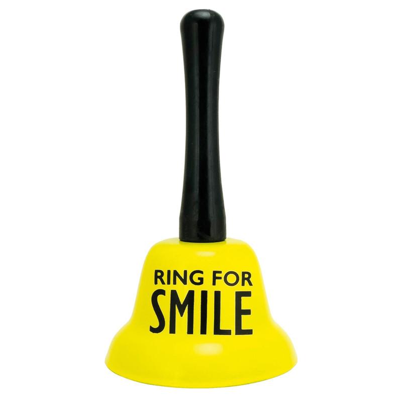 Factory Wholesale Custom Logo Gift Christmas Metal Gold Ringing Hand Bell