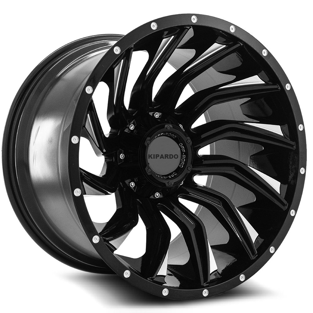 KIPARDO 20X12 6X139.7 offroad aluminum alloy wheel for truck rim pickup wheel