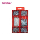 Made In China PS box BSCI approved factory 400PC zinc plated nail