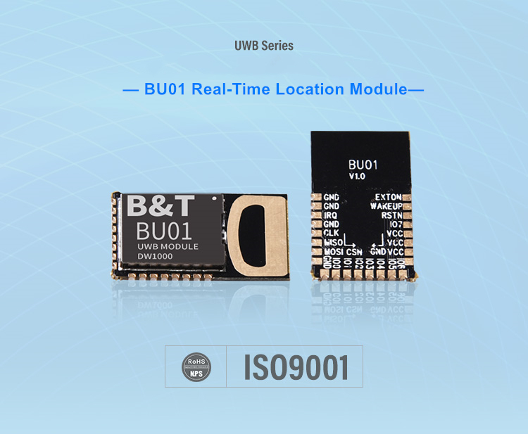 Ai-Thinker New Arrival UWB Indoor Positioning Module rtls Close Range High Precision Ranging Module BU01