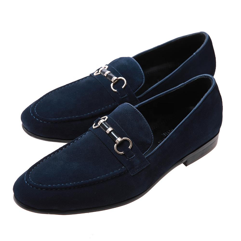 Dos homens de negócios casuais sapatos de couro fosco sapatos par de sapatos com pontas do dedo do pé sapatos da moda Britânica para os homens
