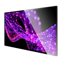 Best quality smart tv 4k digital signage wall mounted advertising lcd displays