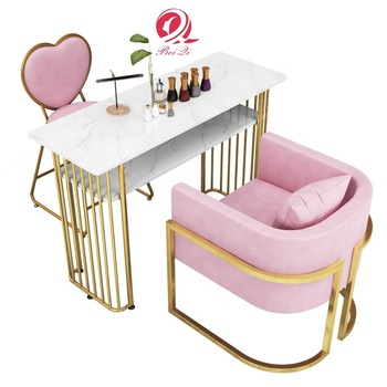 Wholesale luxury nail salon furniture pedicure and manicure chairs used for nail spa chair