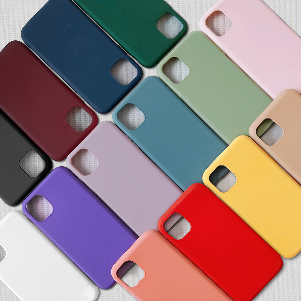 1.5MM Comfortable Touch Soft Matte Tpu Mobile Cell Phone Cover Case For Iphone 11 Pro <strong>Max</strong>,For Iphone 11 Case