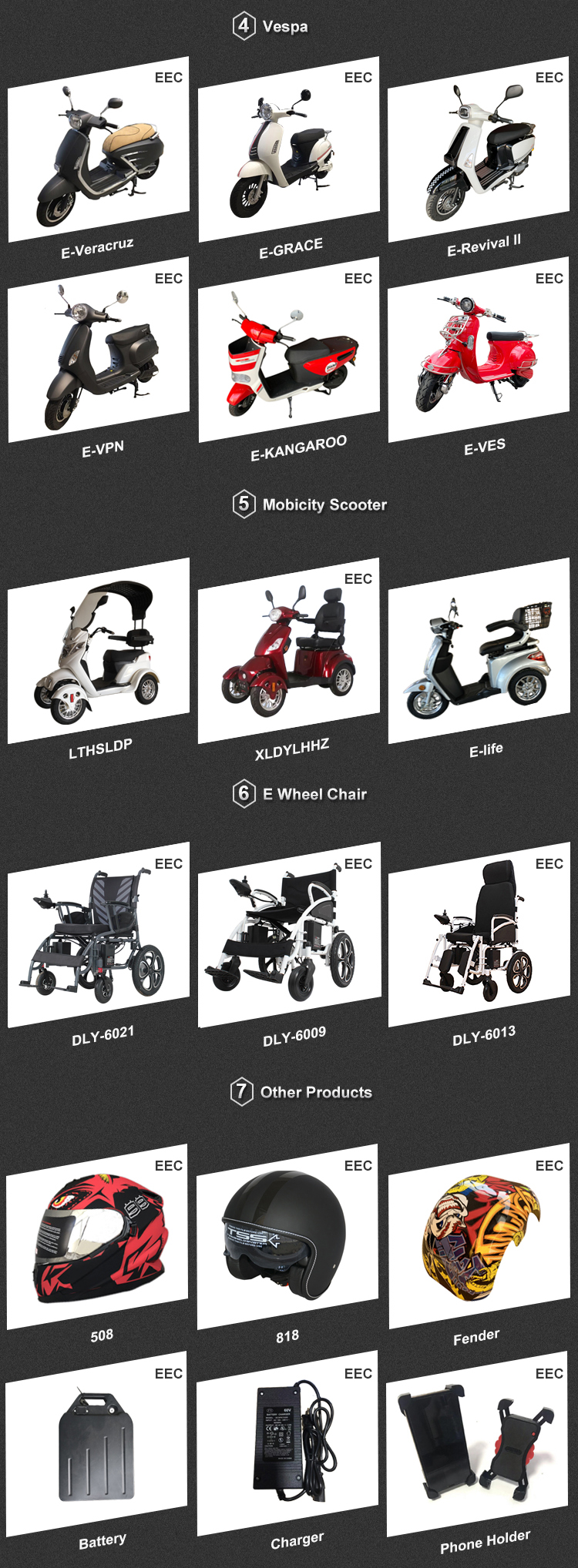 60 volt 3000W cheap new small electric scooter electric motorcycles adult vespa model food delivery