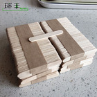 food grade disposable wooden eco friendly popsicle sticks