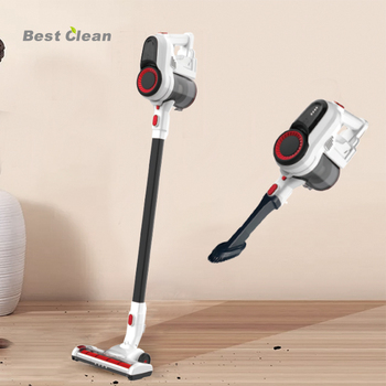 Best Clean Cordless Vacuum Cleaner Strong Suction 2 in 1 Stick Vacuum Ultra-Quiet Handheld Vacuum with Brushless Motor