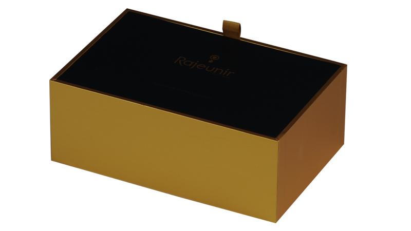 Logo personnalisé Imprimé Papier Carton Rigide luxe boîtes-cadeaux vides, Plateau En Mousse EVA boîte de cadeaux en gros