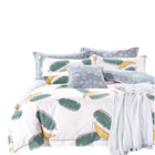 Home Textile 100% Cotton 200TC Printed design duvet cover set/bed sheet set