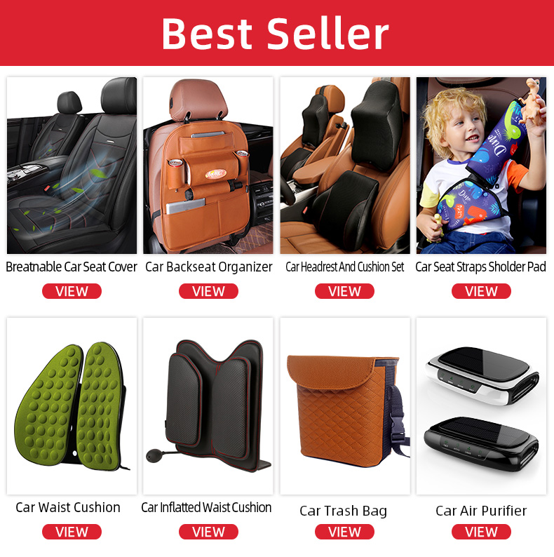 Hot Sale Universal Tablet Holder back seat car organiser Car Back Seat Organizer