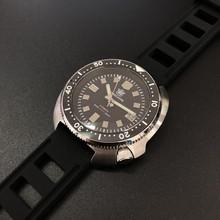 Стальные часы для дайвинга 200 м, автоматические механические мужские часы NH35 Japan C3, суперсветящиеся часы для дайвинга, мужские часы из нержав...(Китай)