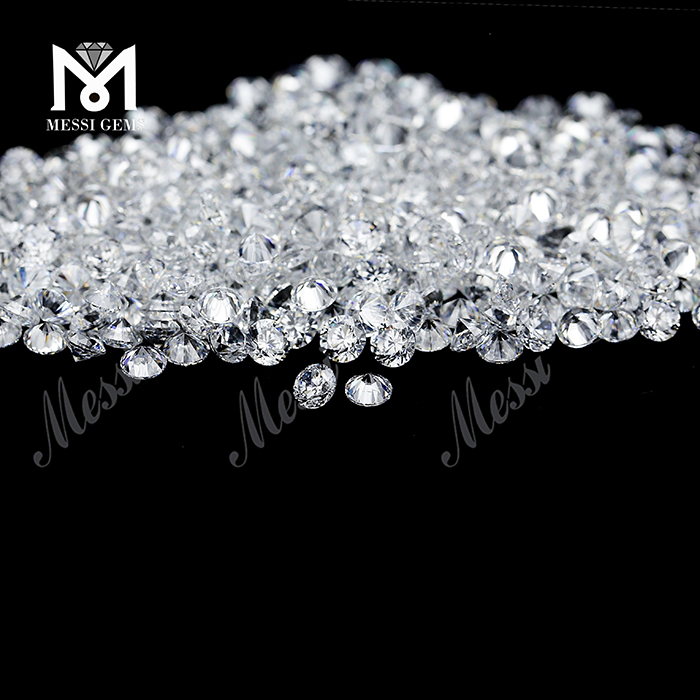 Wuzhou gemstones manufacturer cubic zircon 1000pcs/bag high quality CZ
