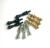 JXCP004 wholesale gold silver black cribbage pegs for 1/8 hole