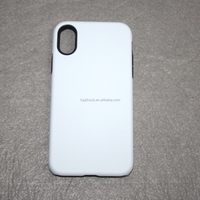 3D 2 in 1 sublimation tough case for iphone X/Xs