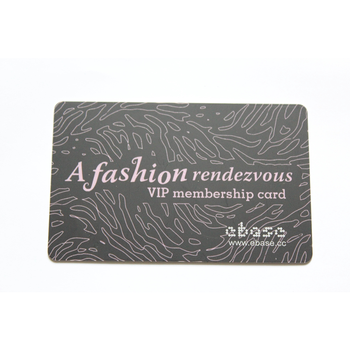 Nice Quality Credit Card Size Custom Printing Finish Plastic Pvc Business Card With Logo For Loyalty Card
