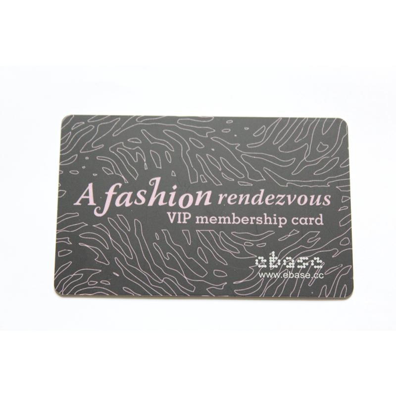 좋은 품질 신용 카드 크기 인쇄 마무리 플라스틱 Pvc 명함 로고 충성도 카드