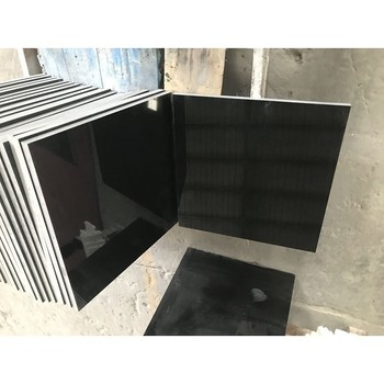 Black Granite Polished Tiles
