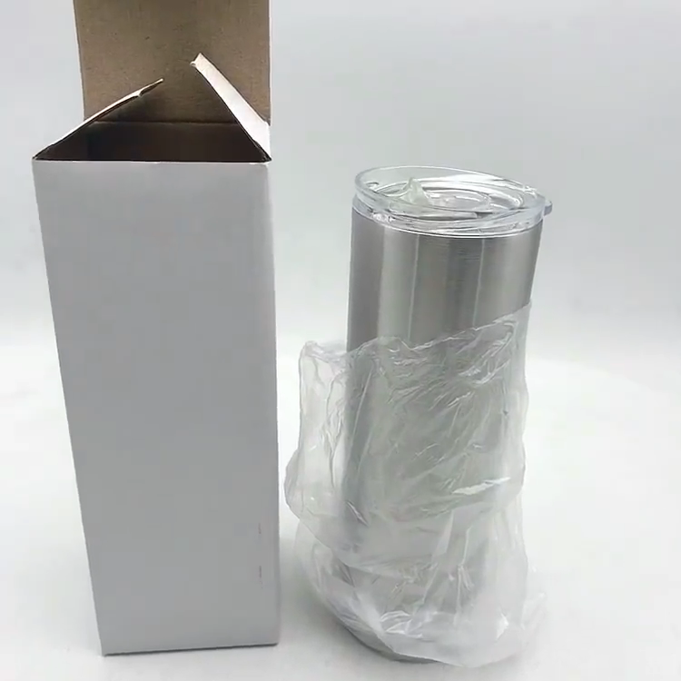 20oz Stainless Steel Tumbler With Lid Straw Vacuum Insulated Cup Water Bottle