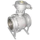 sell full bore wcb ball valve dn50 dn80, oxygen ball valve with reliable quality