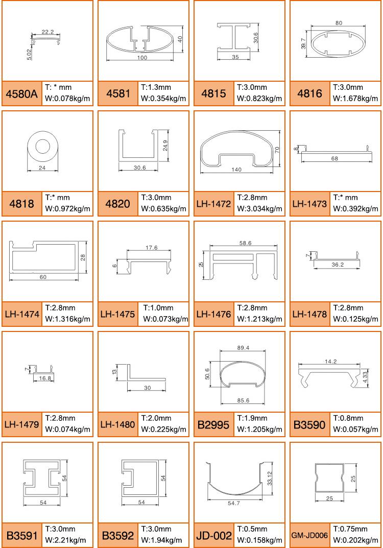 LENWA çin Dali ekstrüzyon fabrika sıcak satış alüminyum küpeşte balkon korkuluğu birçok bölüm seçenekleri