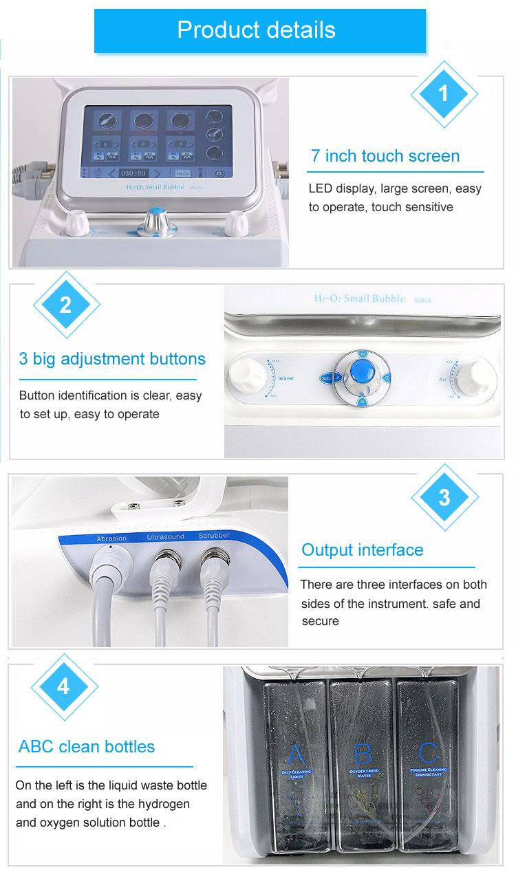 2020 hot sale portable hydra / facial professional machine