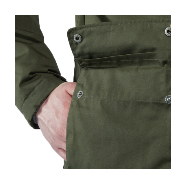 Classic Winter Jacket with Warm Teddy Lining