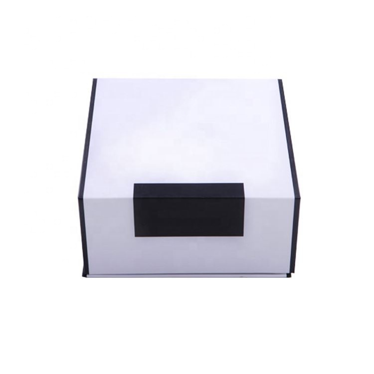 Folding Magnetic Cardboard Boxes Wholesale Premium Customise Packaging Custom Logo With Ribbon Gift Box