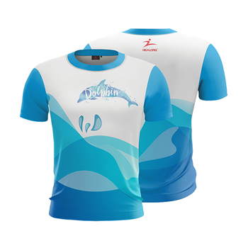 OEM Customized Short Sleeve Digital Dye Sublimated T Shirt Polyester Fashion Full Sublimation 3d T-Shirt Printing
