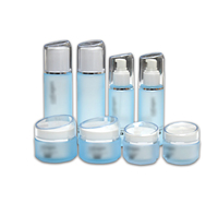 High Quality 100ml 150ml Empty Cosmetic Lotion Pump Dropper Bottle Skin Care Packaging Set