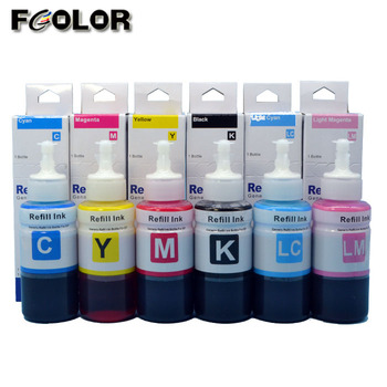T6731 T6736 tinta de tinte for Epson L800 L805 L810 L1800 refill dye ink,  View tinta de tinte, FColor Product Details from Dongguan Fullcolor Office