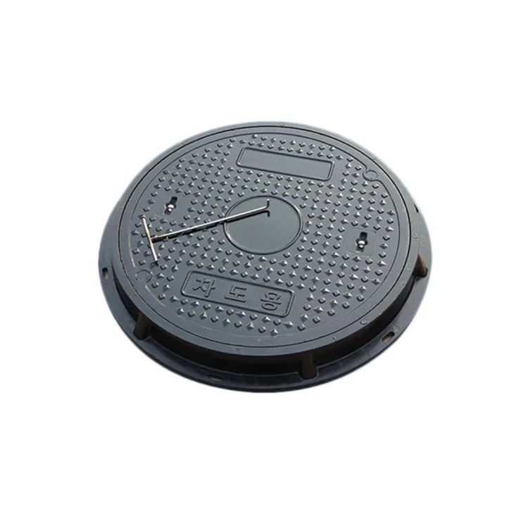 SMC FRP GRP manhole cover telecom cover mould compression press mould production plastic drain cover mould