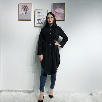 latest fashion cotton quality Muslim women's blouse tops islamic clothing