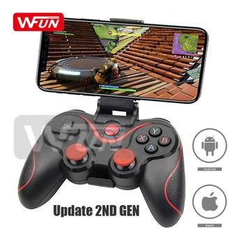 Hot Wireless Cellphone Joystick Game Controller PS3 Gamepad Bluetooth Pubg Game Pad For PC IOS Android TV Desktop