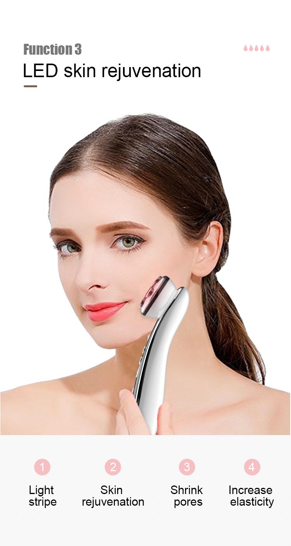 미니 rf electroporation mesotherapy 아름다움 기계, ems 얼굴 아름다움 기계