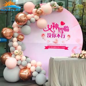 NAXILAI Custom acrylic wedding backdrop Amazing acrylic backdrop And acrylic round backdrop