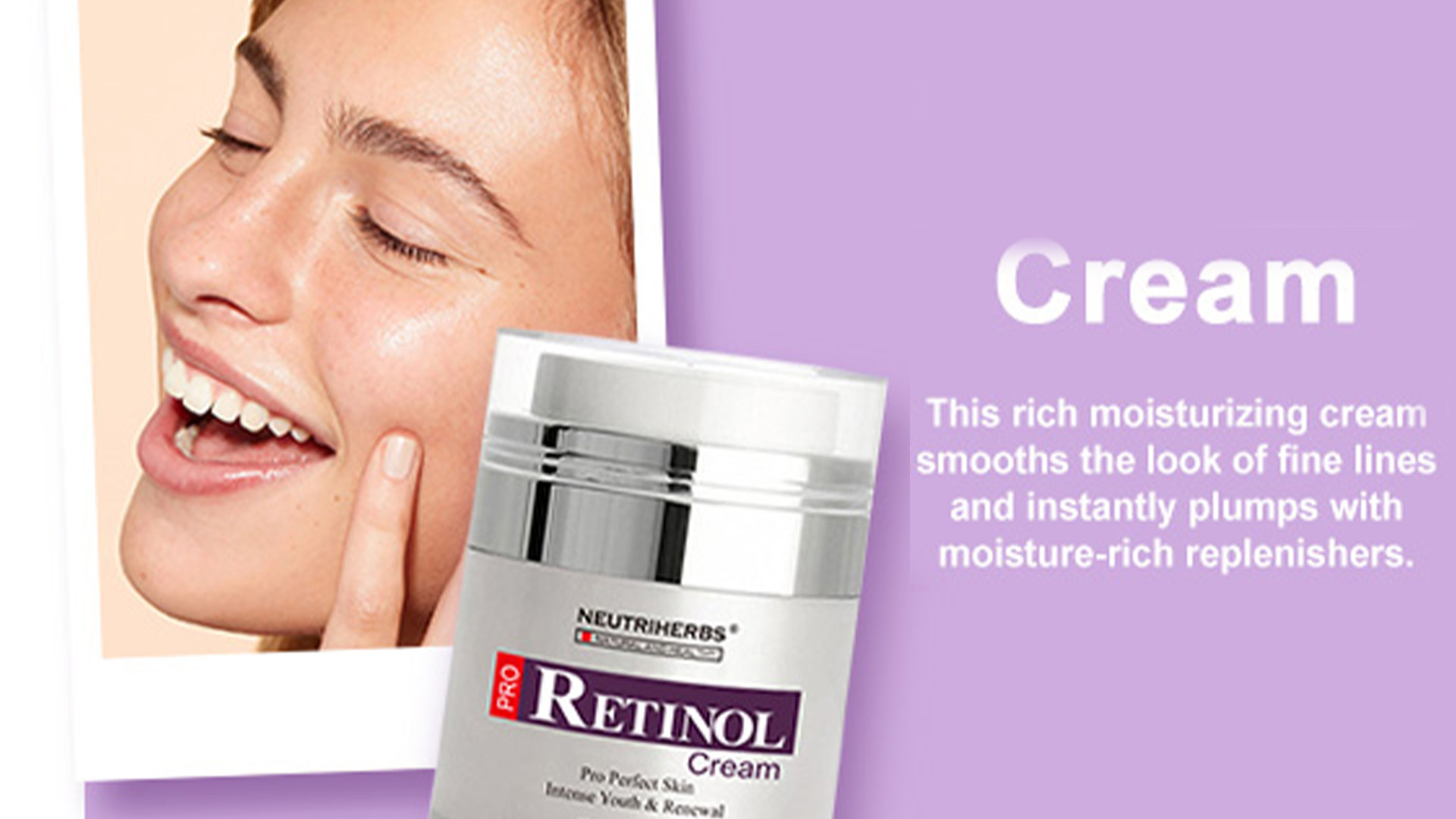Herbal Perawatan Kulit Hydro Wajah Kerut Penghapusan Stretch Mark Anti Aging Retinol Cream