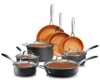 Eco-friendly Set Of Cooking Pots Non Stick Cookware Set With Ceramic Coating